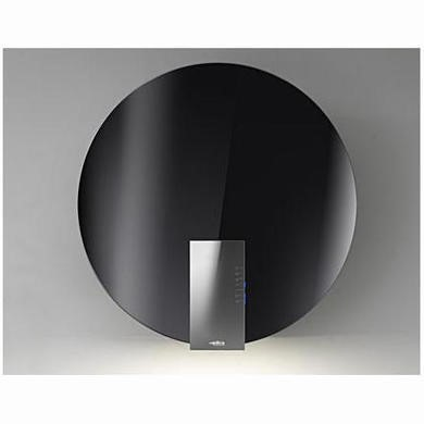 Elica SPACE-BLK SPACEBLK Space EDS3 78cm Chimney Cooker Hood Black Glass