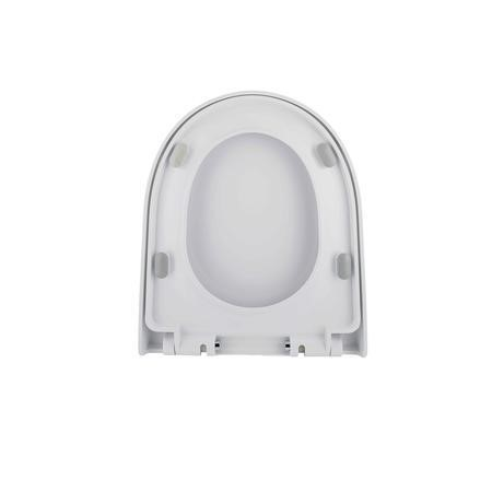 Cedar Wrap Around Style Soft Close Quick Release Toilet Seat