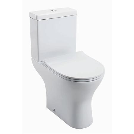Cedar Close Coupled Toilet with Soft Close Seat