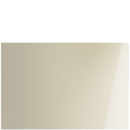 Smeg SPG10075P 100cm W x 75cm H Plain Glass Cream Splashback