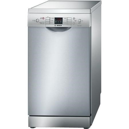 Bosch Serie 6 Active Water SPS53M08GB 9 Place Slimline Freestanding Dishwasher - Silver