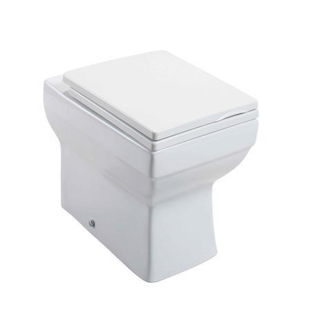 Square Back to Wall Toilet with Soft Close Seat