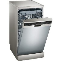 Siemens Slimline Freestanding Dishwasher - Stainless Steel Best Price, Cheapest Prices
