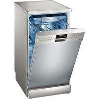 Siemens SR256I00TE iQ500 Slimline 10 Place Freestanding Dishwasher - Fingerprint-free Stainless Steel Best Price, Cheapest Prices