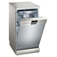 Siemens iQ500 SR26T897EU 10 Place Slimline Freestanding Dishwasher - Silver Best Price, Cheapest Prices