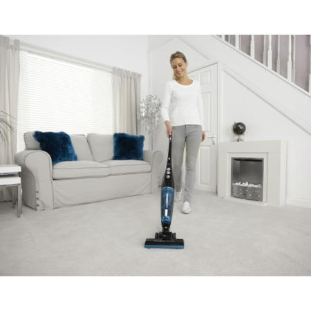Hoover SU204B2001 Flexi Power Stick Vacuum Cleaner Black And Blue