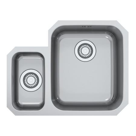 Taylor & Moore Superior 1.5 Bowl Left Hand Undermount Stainless Steel Sink