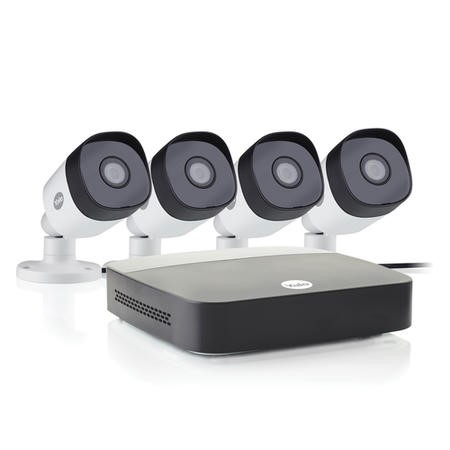 Yale CCTV System - 4 Channel 1080p DVR with 4 x 1080p Motion Detecting Cameras & 1TB HDD