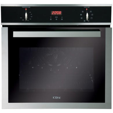 SV150SS CDA SV150SS Eight Function Electric Built-in Single Oven Stainless Steel