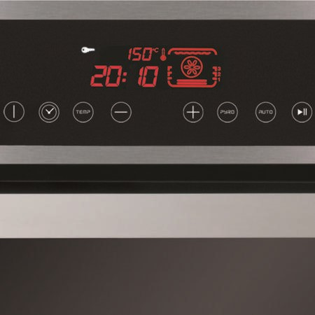 CDA SV470SS Compact Pyrolytic Electric Built In Single Oven