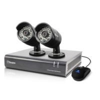 Swann DVR4-4400 - 4 Channel CCTV HD 720p Digital Video Recorder & 2 x PRO-A850 Cameras & 500GB Hard Drive