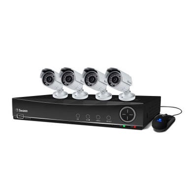 Swann DVR8-4100 8 Channel 960H Digital Video Recorder & 4 x PRO-842 Cameras