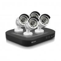 Swann DVR8-4750 8 Channel 3 Megapixel HD Digital Video Recorder with 4 x PRO-T858 Cameras & 2TB Hard Drive
