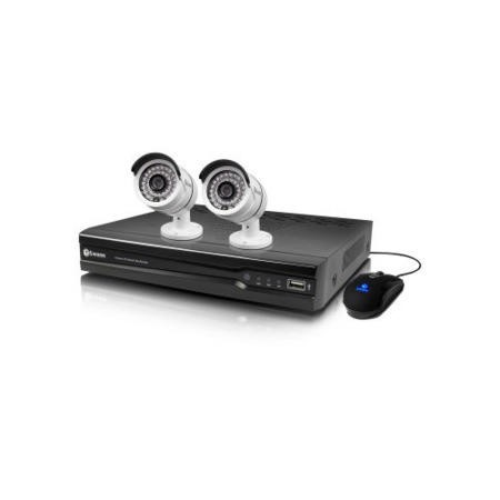 Swann NVR4-7082 4 Channel 720p HD Network Video Recorder with 2 x NHD-806 720p Cameras & 1TB Hard Drive