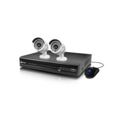 Swann NVR4-7082 NVR IP POE CCTV Security System with 2 x NHD-806 720p Cameras 1TB HD