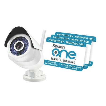 Box Open SwannOne SoundView HD 720p Outdoor Wireless CCTV Camera