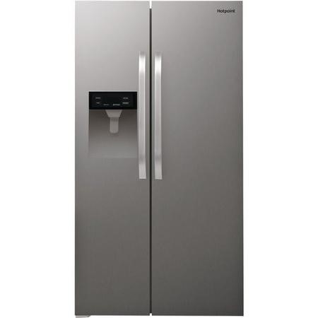 Hotpoint SXBHE924WD Side-by-side American Fridge Freezer - Stainless Steel Look