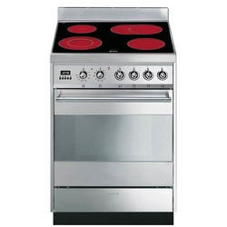 GRADE A3 - Smeg SY6CPX8 Symphony Pyrolytic Stainless Steel 60cm Electric Cooker