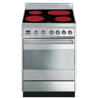 Smeg SY6CPX8 Symphony Pyrolytic Stainless Steel 60cm Electric Cooker