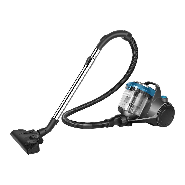 Swan Sc15812N MultiForce Pet Bagless Cylinder Vacuum Cleaner Dark Grey & Blue
