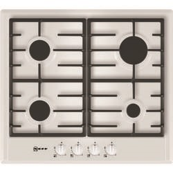 Neff T22S36W0 Series 1 60cm 4 Burner Gas Hob - White