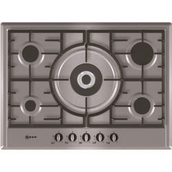 Neff T25S56N0GB Series 1 Five Burner 70cm Gas Hob - Stainless Steel