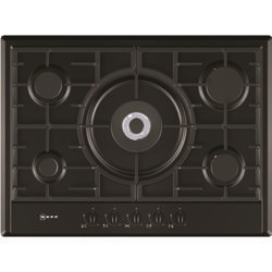 Neff T25S56S0 Series 1 70cm 5 Burner Gas Hob with FSD  in Black