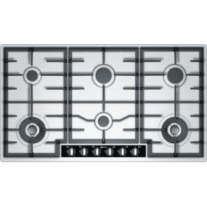 Neff T29S96N1 Six Burner Gas Hob - Stainless steel