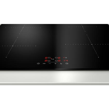 Neff T36FB41X0G Touch Control 60cm Four Zone Induction Hob Black With Bevelled Front Edge