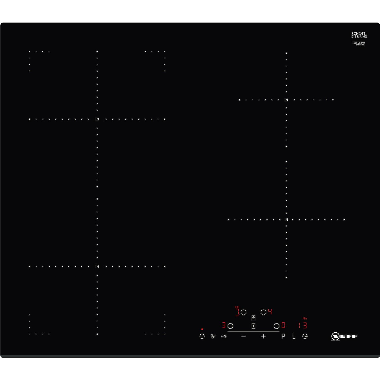 neff t46fd53x0 59cm touch control four zone induction hob black rh appliancesdirect co uk Wiring- Diagram neff induction hob wiring instructions