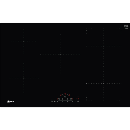 Neff T48PD23X0 N70 TouchControl Flush Five Zone 79cm Induction Hob Black Glass