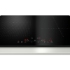 Neff T56FD50X0 N70 59.2cm Four Zone Induction Hob With FlexInduction Zone - Black Glass With Bevelled Front Edge