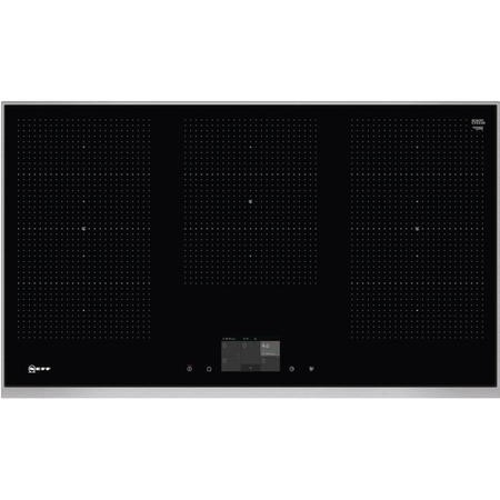 Neff T59TS5RN0 TwistPad Fire Control 918mm Induction Hob With FlexInduction Zones - Black