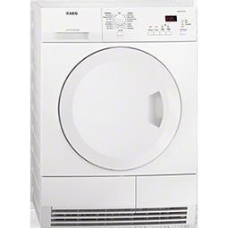 AEG T61270AC 7kg Condenser Tumble Dryer - White