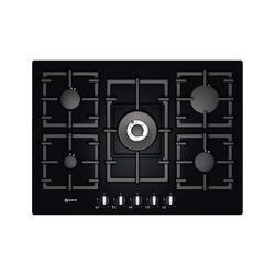 Neff T63S46S1 Series 2 71cm Glass Base Gas Hob in Black
