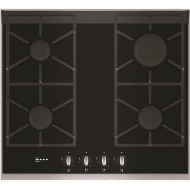 T66S66N0 Neff T66S66N0 Series 4 60cm Gas-on-glass Hob with FSD