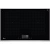 Neff T68TF6RN0 N90 82.6cm FlexInduction Hob For Up to 5 Pan - Black Glass With Stainless Steel Frame