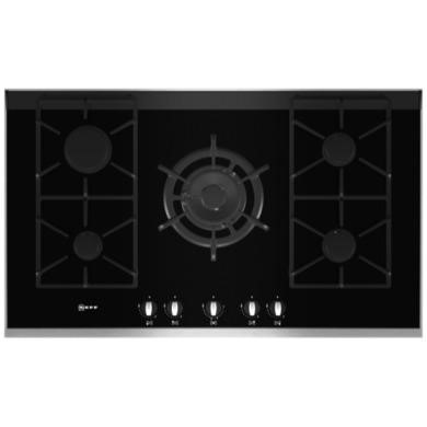 T69S76N0 Neff T69S76N0 Series 4 90cm Gas-on-glass Hob with FSD