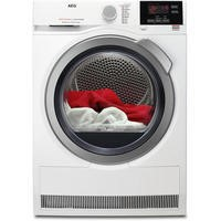 AEG T6DBG822N 6000 Series ProSense 8kg Freestanding Condenser Tumble Dryer White
