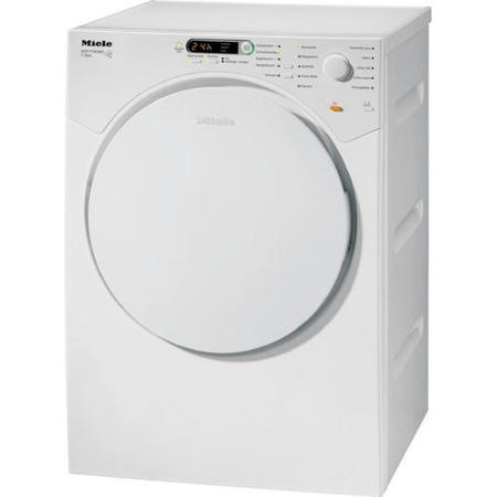 miele t7934 7kg freestanding vented tumble dryer white. Black Bedroom Furniture Sets. Home Design Ideas