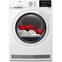 AEG T7DBG831R 7000 Series SensiDry 8kg Extra Efficient Freestanding Heat Pump Condenser Tumble Dryer