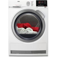 AEG T7DBG832R 7000 Series SensiDry 8kg Extra Efficient Freestanding Heat Pump Condenser Tumble Dryer