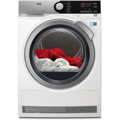 AEG T8DEE845R 8000Series 8kg Freestanding Heat Pump Tumble Dryer-White