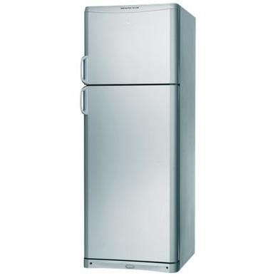 Indesit TAAN6FNFS Frost Free Top Mount Silver Freestanding Fridge Freezer