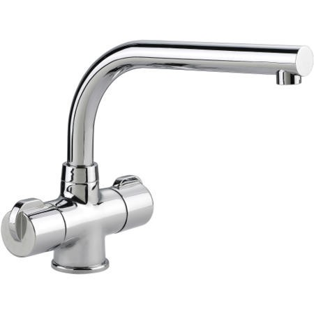 Rangemaster Aquadisc 3 Chrome Monobloc Traditional Tap