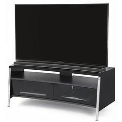 Off The Wall Curved 1300 High Gloss Black TV Cabinet - Up to 55 Inch