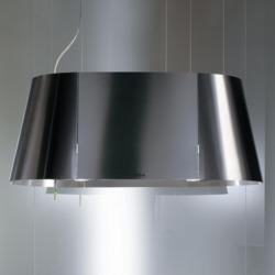 Elica TANDEM Ceiling Mounted 248mm Island Cooker Hood Stainless Steel