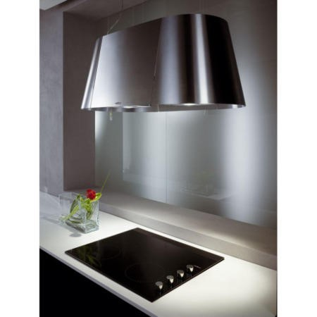 Elica TANDEM Ceiling Mounted 90cm Island Cooker Hood Stainless Steel