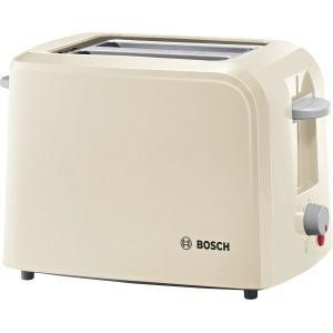 Bosch TAT3A017GB 2-slice Toaster - Cream