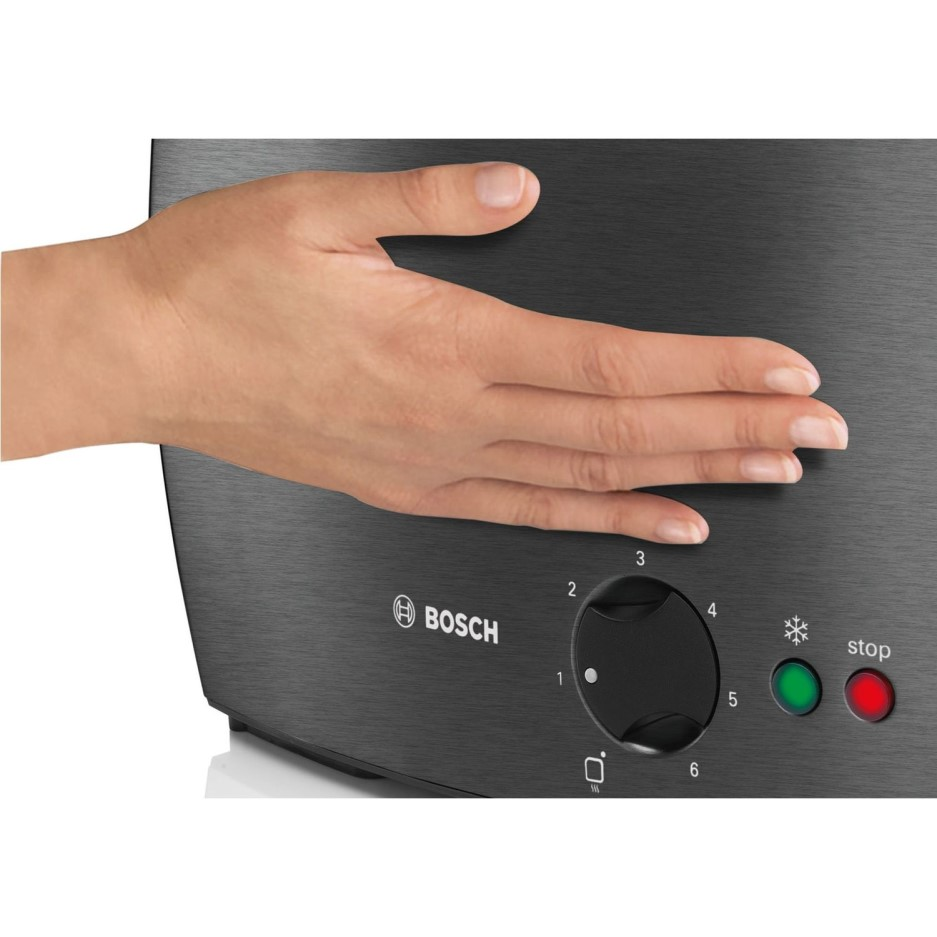 Bosch Tat6805gb Long Slot Toaster Stainless Steel And